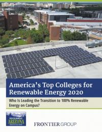 America's Top Colleges for Renewable Energy 2020